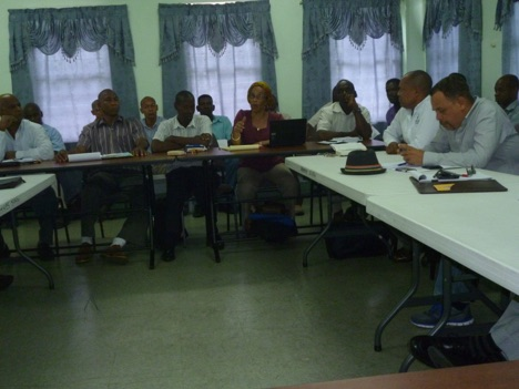 Intensive discussion on Grenada's Draft Biosafety Bill during a consultation in Grenada
