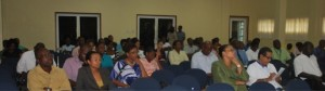 Attendees at the launch of the NBF Project