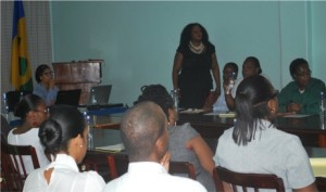 Presentation by Ms Michelle Fife, Attorney at Law, to Public Servants October 9th, 2013