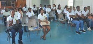 A seminar session with Pre College students – October 27th, 2013