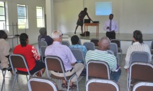 Consultation: WINFA Farmers: Legal Consultant, Mr. Roderick Jones makes presentation